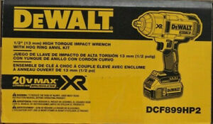 Dewalt Dcf899hp2 1 2 High Torque Hr Impact Wrench Kit Brand New