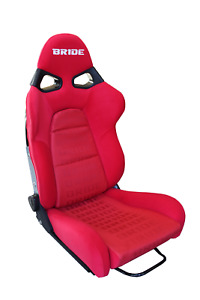 Bride Style Cuga Red Gradation Red Frp Vios Low Max Racing Seat Single Large