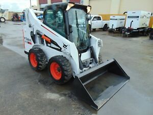 2015 Bobcat S 590 Turbo 2 Speed a 71 Pkg A c Cab Stereo Selectable Sticks