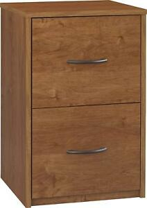 2 Drawer Cabinet File Office Wood Storage Home Furniture Document Storage