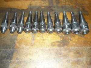 Moore Jig Borer Collet Tool Holder End Mill Holder Lot Of 11 Different