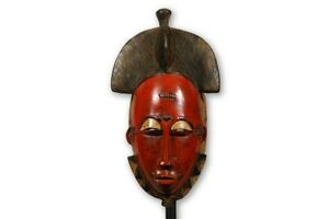 Guro African Mask With Stand 15 Ivory Coast