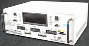 Netcom X 1000 90 264vac Fast Ethernet Bench Top Tester stimulator analyzer
