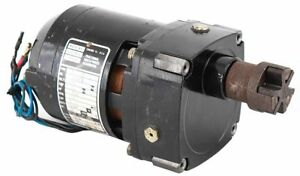 Bodine Nci 11d3 1 50 Hp 8 9lb in 18 1 Reduction Ratio 94 Rpm Electric Gear Motor