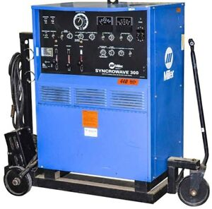 Miller Syncrowave 300 Industrial Constant Current Ac dc Arc Welding Power Source