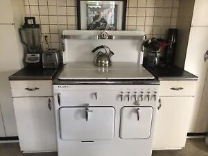 Rachel Ray Style Vintage Antique Chambers Gas Stove Oven 15 B 15b 1939 1948
