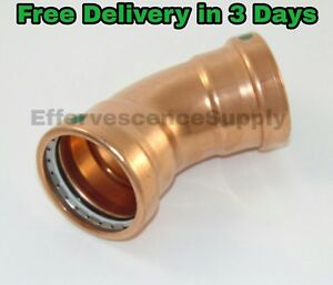 Viega 3 X 3 Propress Xl c Copper 45 Elbow p1xp2 Lead Free