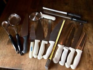 Restaurant Grade Knives Pizza Cutter Sharpeners Chef Bread Serving