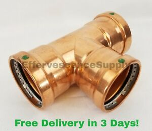Viega 3 Xl c Propress Copper Tee Propress Copper Fittings