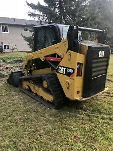 2015 Cat 259d Skid Track Loader
