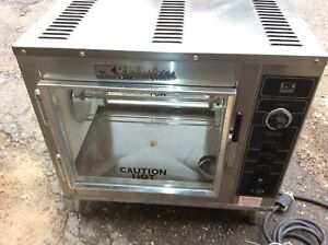 Chicken Rotisserie Bk Industries 115v Electric Countertop Cooks 9 Chickens