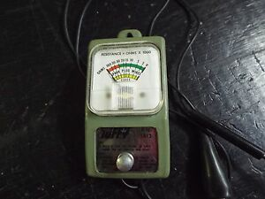 Vintage Ohmmeter Tool Tuffy This Is A Great Unit