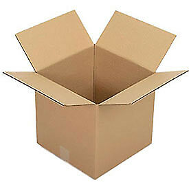Corrugated Boxes 12 X 12 X 12 Single Wall 25 Pack Lot Of 1