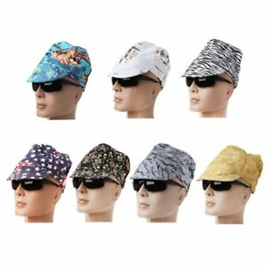 Cotton Fancy Welding Hat Sweat Absorption Cap Welding Safety Protection Supplies