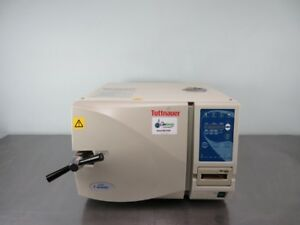 Tuttnauer Benchtop Autoclave 2540ep With Warranty See Video