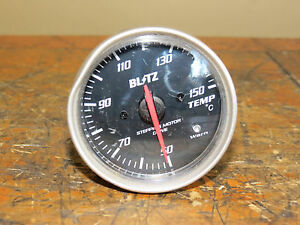 Jdm Blitz 60mm Gauge Temp Water Temperature Gauge