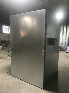 New Powder Coating Oven Industrial Oven Batch Oven 5x5x8 With Circulation Fan