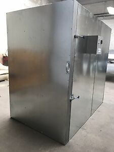 New Powder Coating Oven Batch Oven 4x6x6 With Circulation Fan