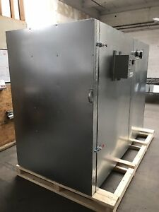 New Powder Coating Oven Batch Oven Industrial Oven 4x6x8 With Circulation Fan