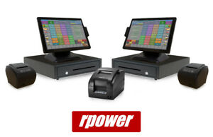 Restaurant Point Of Sale System Rpower Pos Two Station Hardware Bundle