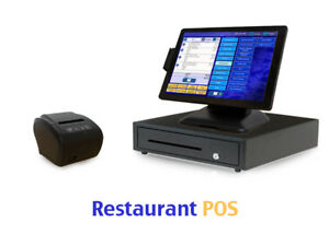 Restaurant Point Of Sale System Pos Software Hardware Bundle