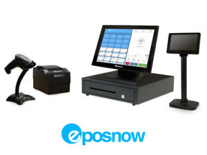 Retail Cloud Point Of Sale System Eposnow Pos Bundle W Lcd Pole Display