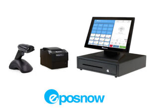 Retail Cloud Point Of Sale System Eposnow Pos Bundle W Wireless Scanner
