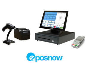 Retail Cloud Point Of Sale System Eposnow Pos Bundle W Payment Pinpad