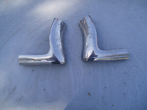 1964 1963 Ford Galaxie Mercury Convertible Windshield Outer Mouldings Trim 427