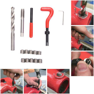 M4 M5 M6 M8 M10 M12 M14 Helicoil Pro Coil Tool Metric Thread Repair Insert Kit