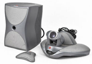 Polycom Vsx 7000 Ntsc Camera Subwoofer Microphone Video Conferencing System