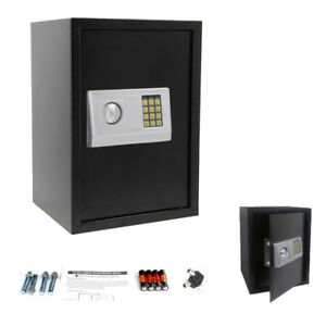 Electronic Digital Combination Lock Safe Box Depository High Security Gun Money