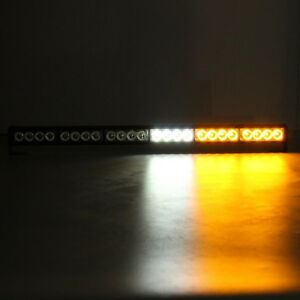 Hot Sale 27 24led Emergency Traffic Flashing Warning Strobe Strip Light Vehic