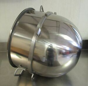 New Stainless Steel 60 Qt Bowl For Hobart Mixers