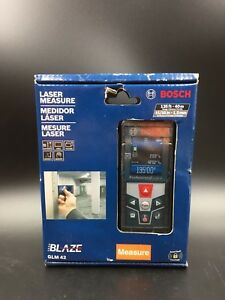 Bosch Glm 42 Blaze 135 Ft Laser Measure new