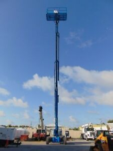 2007 Genie S 125 Telescopic Boom Lift 131 Man Working Height Jib Extension