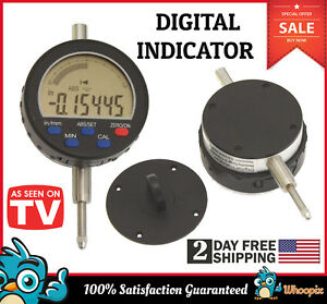 Digital Electronic Indicator Dial Gauge 0 5 0 00005 X Large Lcd Display New