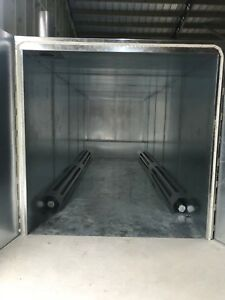 New Gas Powder Coating Oven Batch Oven Industrial Oven 6x6x15 Gas Fired