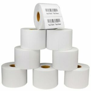 2 25 X1 25 Direct Thermal Barcode Labels Zebra Lp2824 Tlp2824 Lp2844 1000 roll