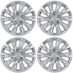 Sporty 10 Spoke 16 Hubcaps Oem Replacement Car Wheel Covers 4 Pack