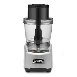 Waring Wfp16s Commercial Sealed Batch Bowl Food Processor 4 Qt