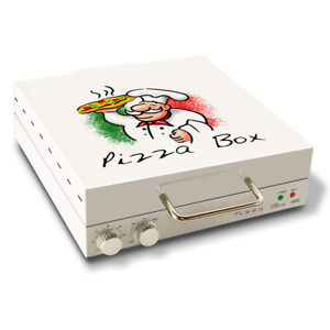Pizza Box Oven Box Rotating Cooking Surface For Making Homemade Pizza Nonstick