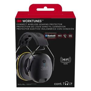 3m 90543 Worktunes Connect Hearing Protector W Bluetooth Technology New In Box
