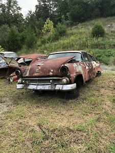 1955 Ford Crown Victoria Back Side Top Window Moulding Driver Side