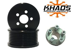 Supercharger Blower 3 0 Pulley Kit Ford F150 Svt Harley Mustang Cobra