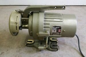 Singer 20u33 Zig Zag Industrial Sewing Machine Motor Only Tested Working