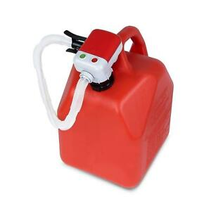 Gas Can Lifting Gallon Pump Fuel Transfer Replacement Spout Orange Plastic New