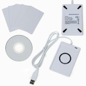 Nfc Acr122u Rfid Contactless Smart Reader Writer usb Sdk 5 Mifare Ic Cards