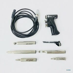 Stryker Core Electric Powered Drill Set W 5 Drills Attachments Cord 5400 99