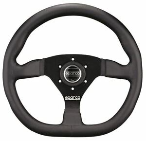 Sparco L360 Steering Wheel Leather 015trgl1tuv